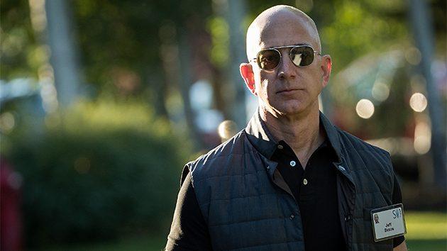 Bezos now richest man, thanks to Amazon stock