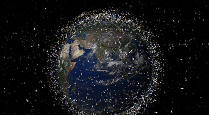 500,000 Pieces of Space Junk Are Orbiting the Earth