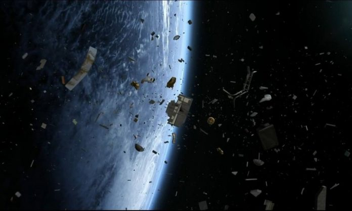 NASA says 500,000 pieces of space junk whirl around Earth