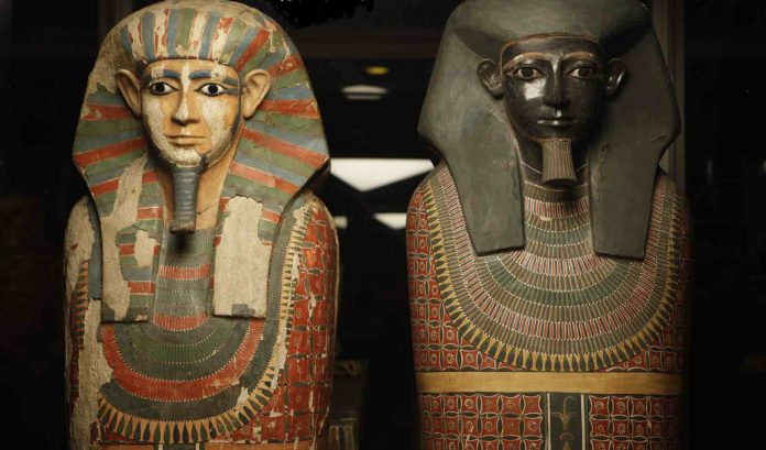 DNA study shows 4,000 year-old mummies are half brothers