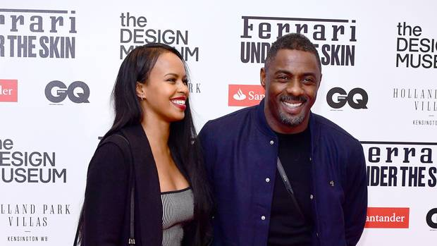 Idris Elba proposes to Sabrina Dhowre at film screening (Video)
