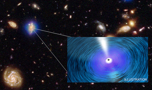 Monstrous black holes are OUTGROWING their host galaxies