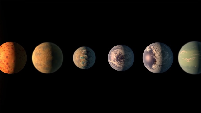 Research: TRAPPIST-1 exoplanets may have more water than Earth