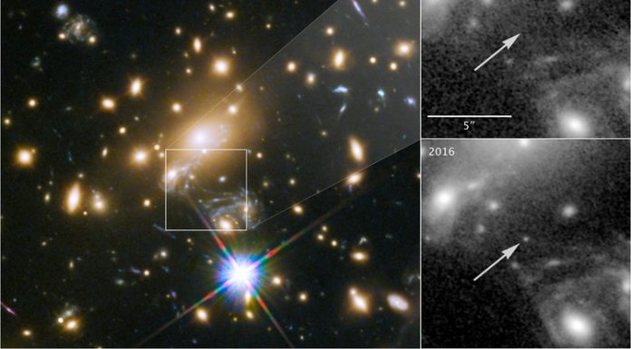 NASA Hubble uncovers the farthest star ever seen