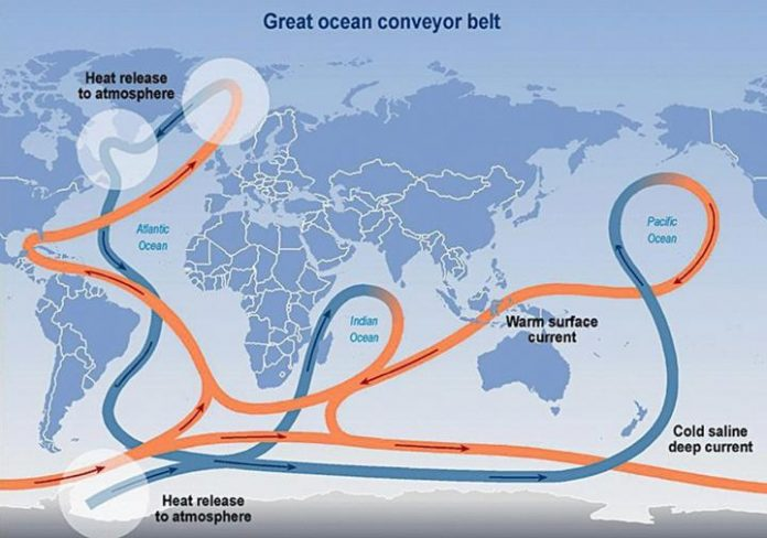 Researchers discovered in the Atlantic, the signs of global disaster