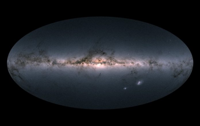 Study: Gaia Creates Largest Map Of Milky Way Galaxy