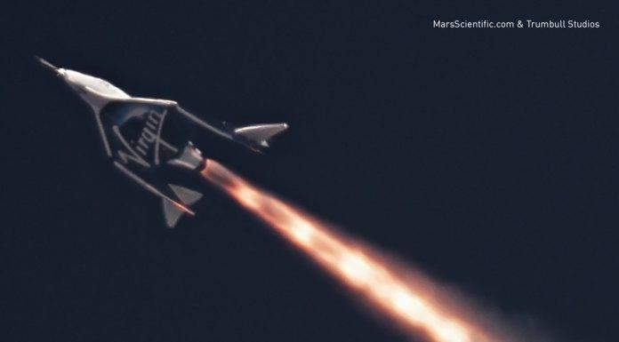 Virgin Galactic completes first rocket-powered test flight (Video)