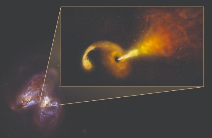 Astronomers Witness Aftermath of a Black Hole Destroying a Star