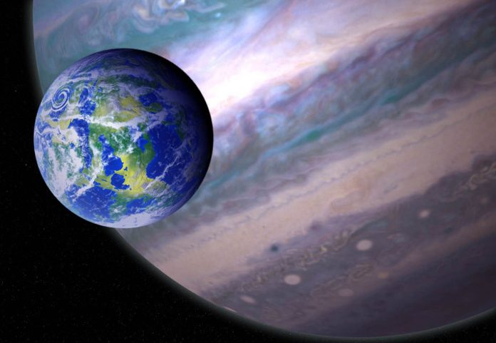 Researchers find 121 giant planets that might host habitable moons