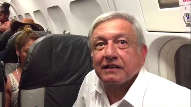 Amlo: Despite flight delay, Mexico's president-elect still wants to sell jet