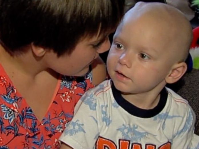 Brody Allen: Christmas comes early for 2-year-old boy with cancer