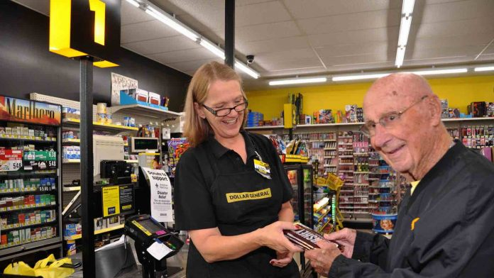 Candy man Bob Williams Hands Out Chocolate Bars in His Community