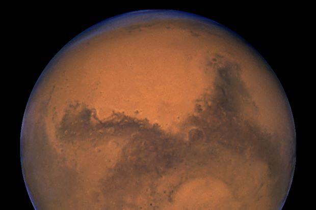 Mars underground lake raises possibility of life
