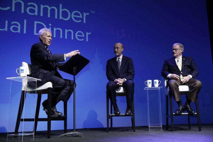 Alex Trebek moderator: The race for Governor of Pennsylvania Debate