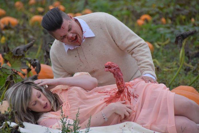 Alien maternity photos: Couple from Nanaimo recreate 'Alien' birth scene