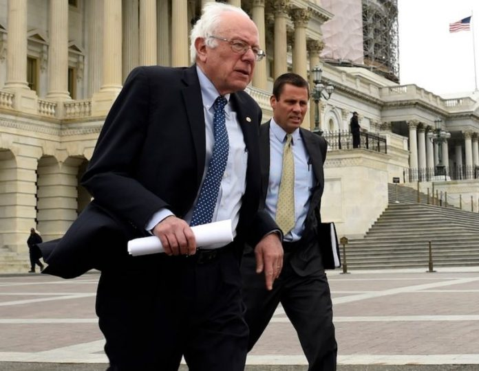 Bernie Sanders Saves Amy Currotto From Getting Hit By A Car