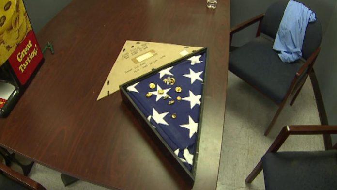 Burial flag returned to Navy wife in Denver