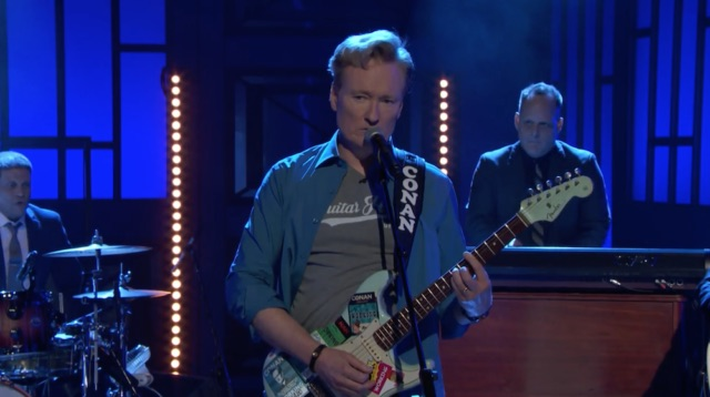 Conan last hour-long show: Star Says a Final Good-bye to His Band