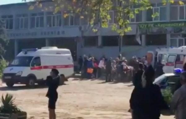 Crimea college explosion: Student gunman killed 17, Report