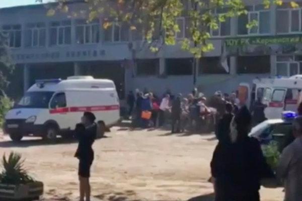 Crimea college explosion: Student gunman killed 17, Report