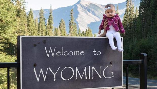Harper Yeats all US states: Newborn's epic road trip
