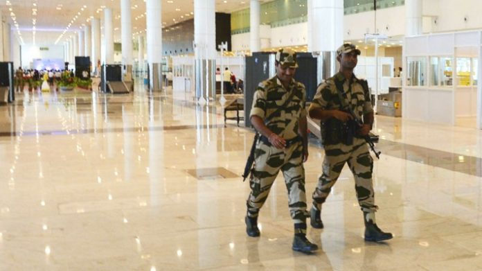 Indian airport police smiling: 'stop being so smiley' (Reports)