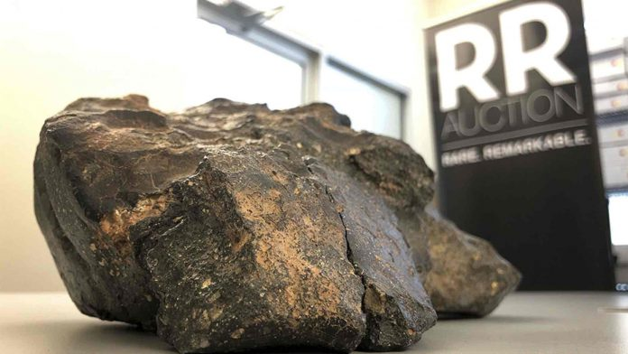 Moon Lunar Meteorite, Is Up For Auction