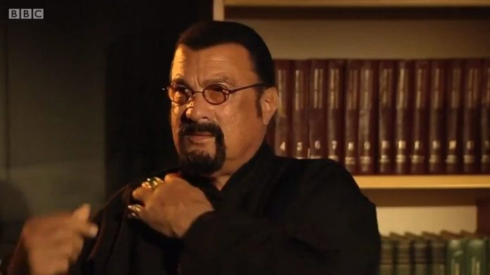 Steven Seagal interview: Actor walks out of BBC 'Newsnight'
