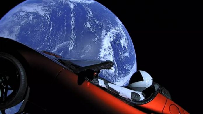 Remember Starman? Elon Musk's Tesla just floated past Mars