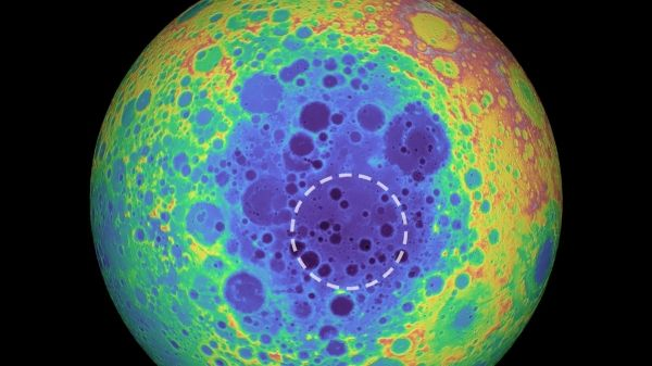 Mass Anomaly Detected Under the Moon's Largest Crater, Study