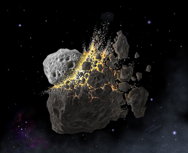 Research: Asteroid collision could provide clues on tackling global warming