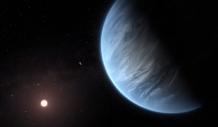 Researchers Find Water on an Exoplanet Twice the Size of Earth