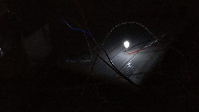 Researchers use nighttime chill to power device