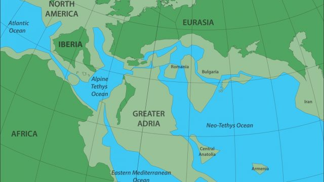 Study: There's a Lost Continent 1,000 Miles Under Europe