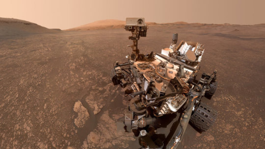 NASA's Curiosity Rover Finds Evidence of Mars' Ancient Salty Lakes