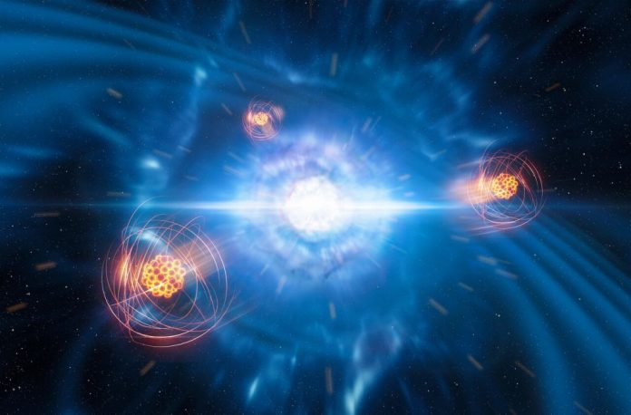 Study: First identification of a heavy element born from neutron star collision