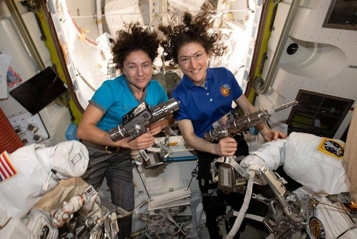 Watch Live: US astronauts to make history with first all-female spacewalk