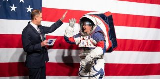 Watch: NASA Unveils Spacesuits for Next Moon Mission