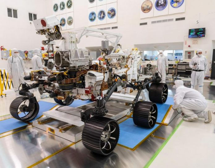 Watch: NASA's Mars 2020 Rover Drove Itself For The First Time!