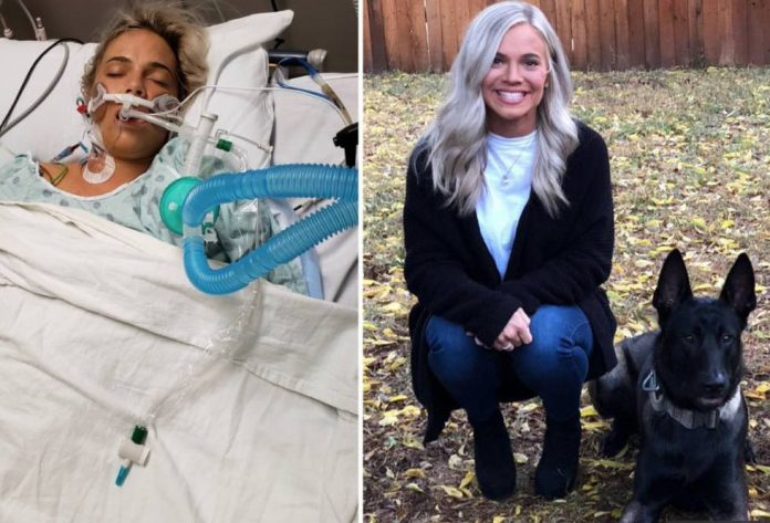 Emily Goss suffers liver failure after taking a $50 herbal supplement