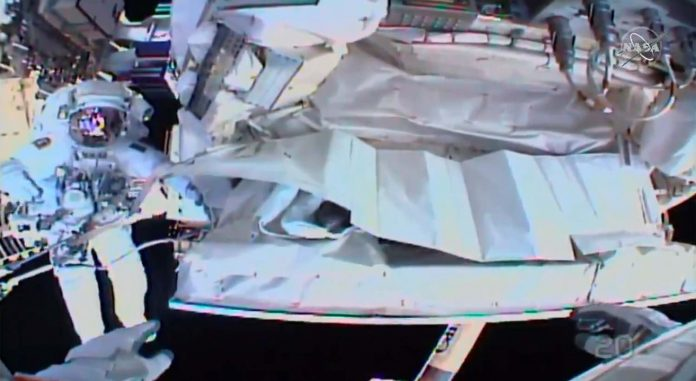 Report: Astronauts Finish Spacewalk For Final Fix Space Station