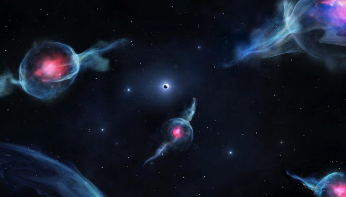 Researchers discover weird objects orbiting Milky Way's central black hole