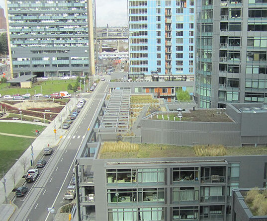 Green infrastructure provides benefits that residents are willing to work for