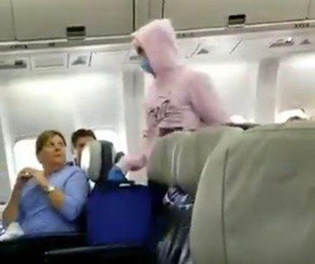 James Potok: Airline passenger arrested over false coronavirus