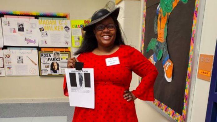 LaToya McGriff: Teacher Celebrates Black History Month (Watch)