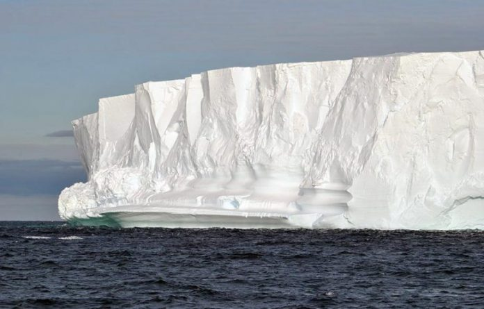 Report: Antarctic ice walls protect the climate