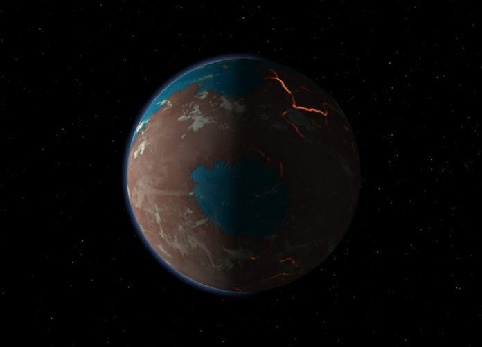 Report: Simulations of early impacts produce a mixed Mars mantle