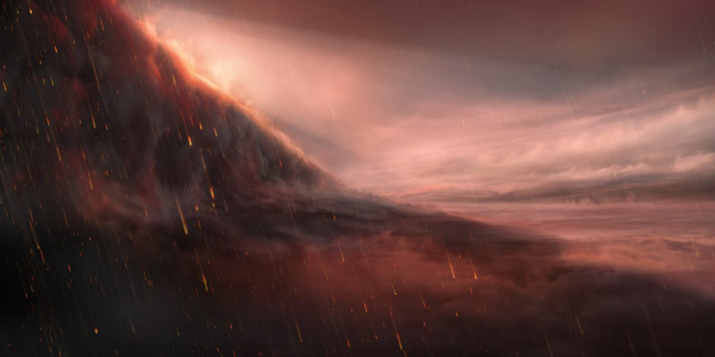 Scientists Discover Scorching Planet Where It Rains Iron