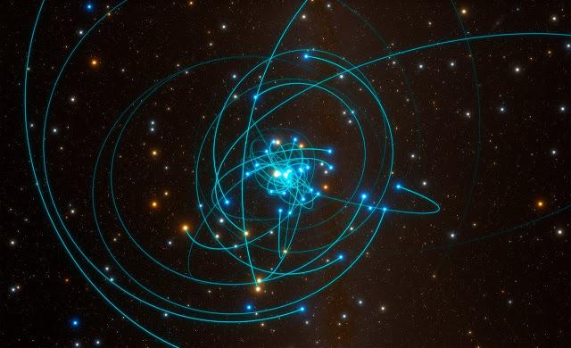 Report: ESO telescope sees star dance around supermassive black hole, proves Einstein right