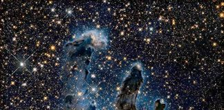 Scientists revisit Hubble's breathtaking Pillars of Creation photo